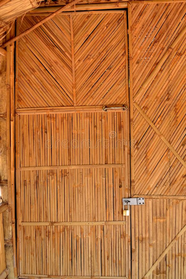 Download Bamboo doors stock image. Image of cottage barrack cabin - 55018741 & Bamboo doors stock image. Image of cottage barrack cabin - 55018741