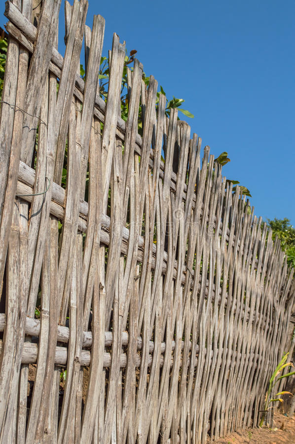 Download Bamboo Fence Stock Photo - Image: 41179447