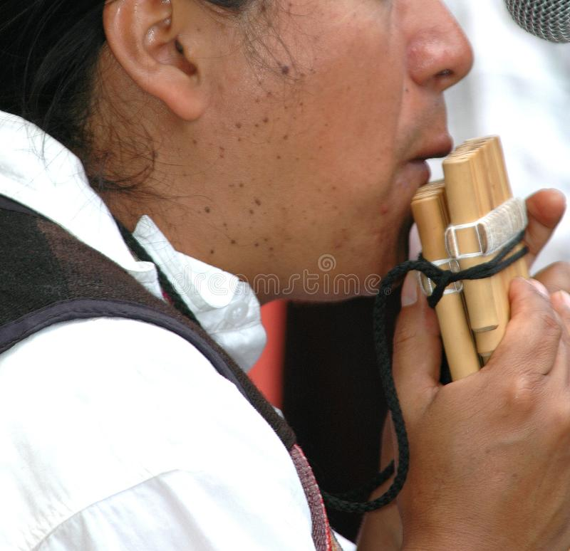 Download Bamboo Flute stock image. Image of instrument, performing - 1036843