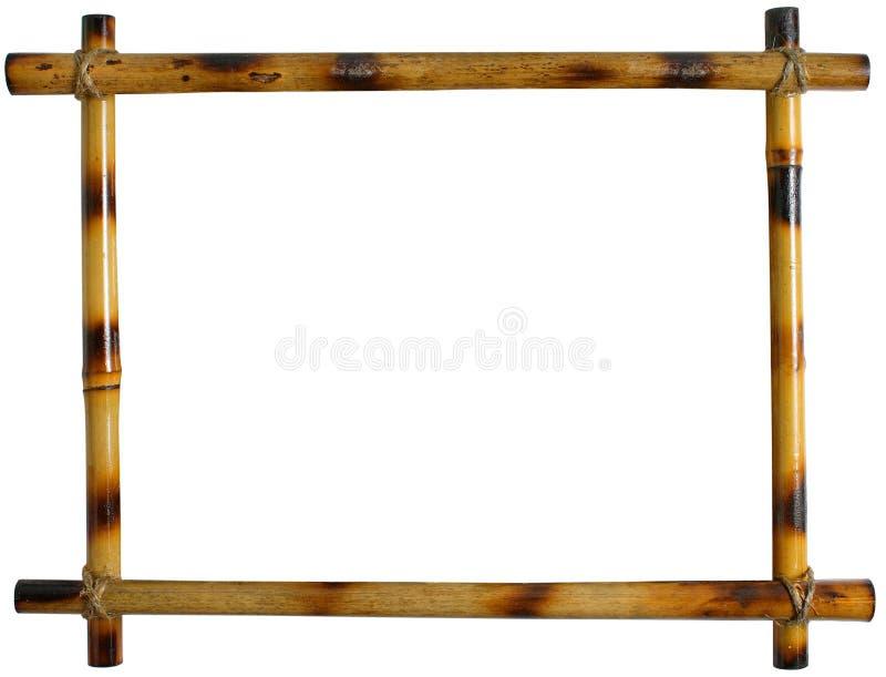 Bamboo Frame royalty free stock image