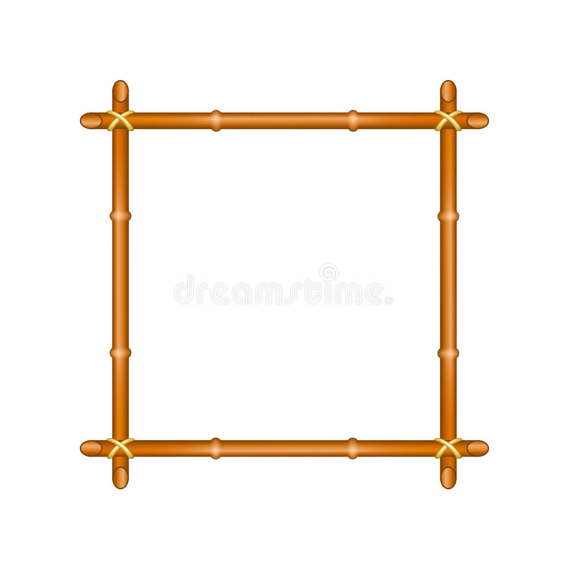 Download Bamboo frame stock vector. Illustration of frame, traditional - 34871405