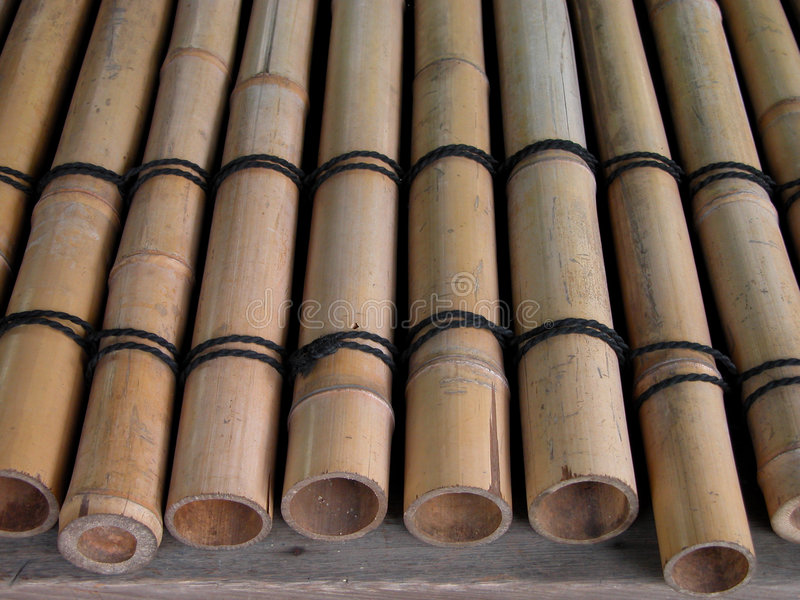 Download Bamboo girders stock photo. Image of details, wooden, design - 29386
