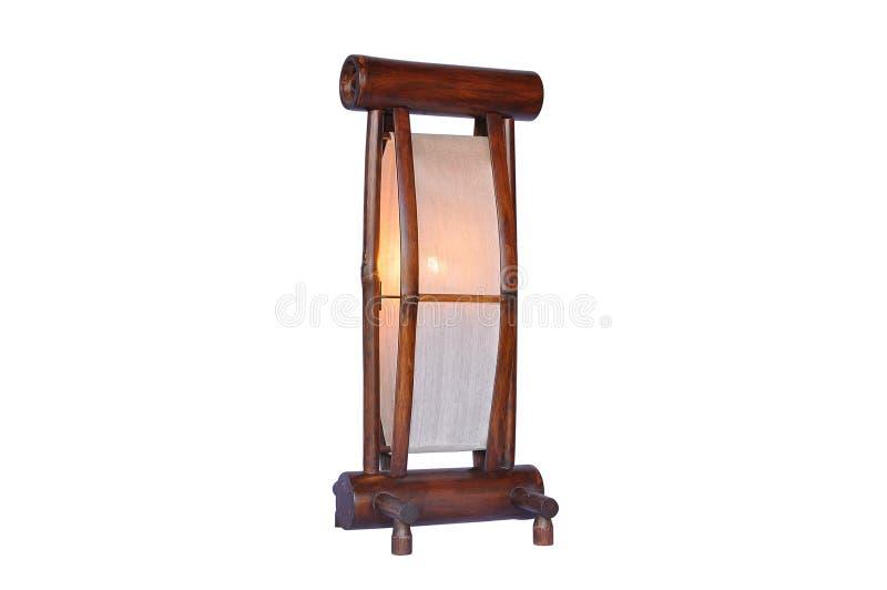 Bamboo Lamp Isolated Stock Photos
