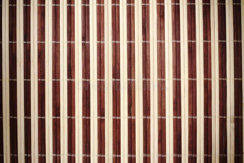 Bamboo Mat Stock Images
