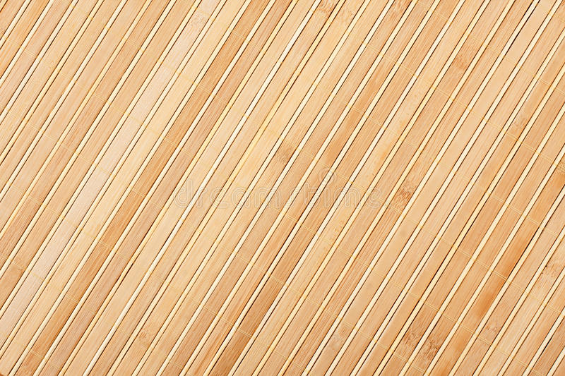 Bamboo mat background stock photo