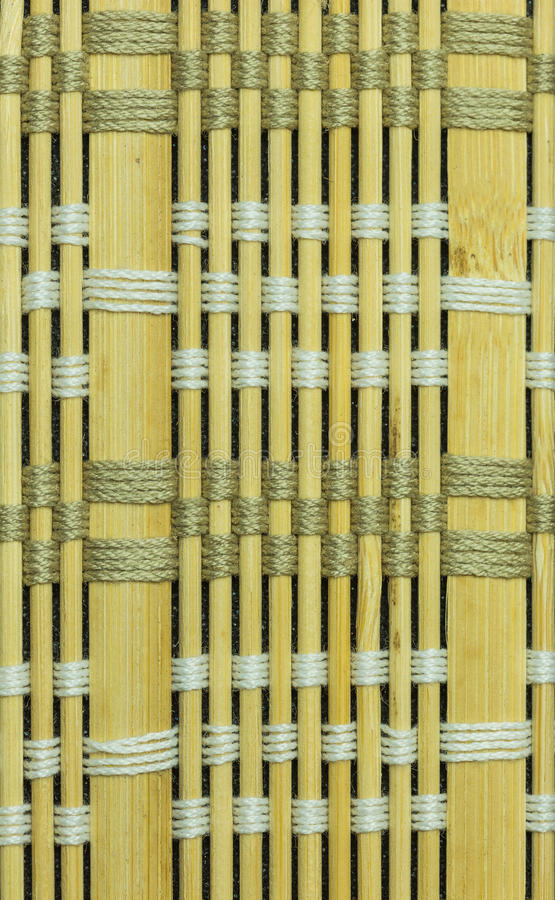 Bamboo material background. Backdrop background bamboo blinds brown curtain stock photos