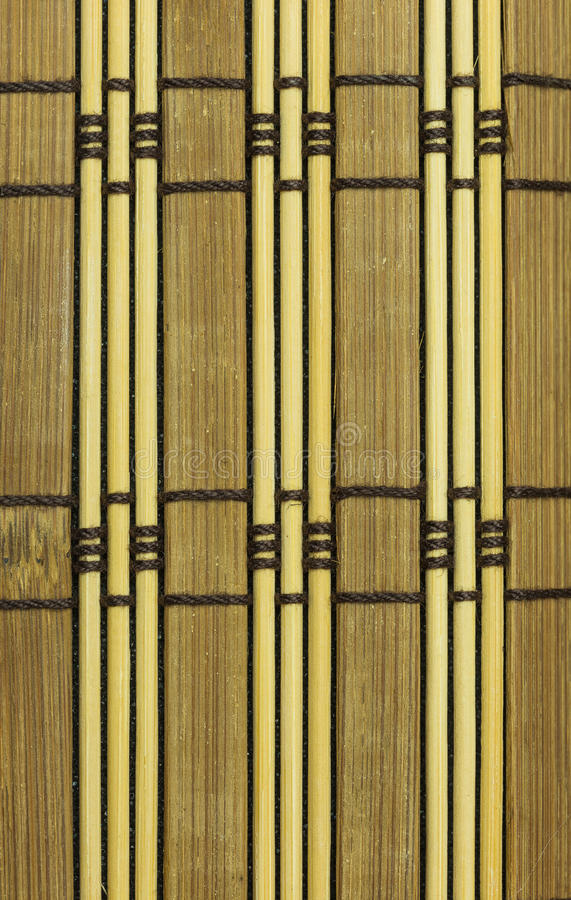 Bamboo material background. Backdrop background bamboo blinds brown curtain royalty free stock photos