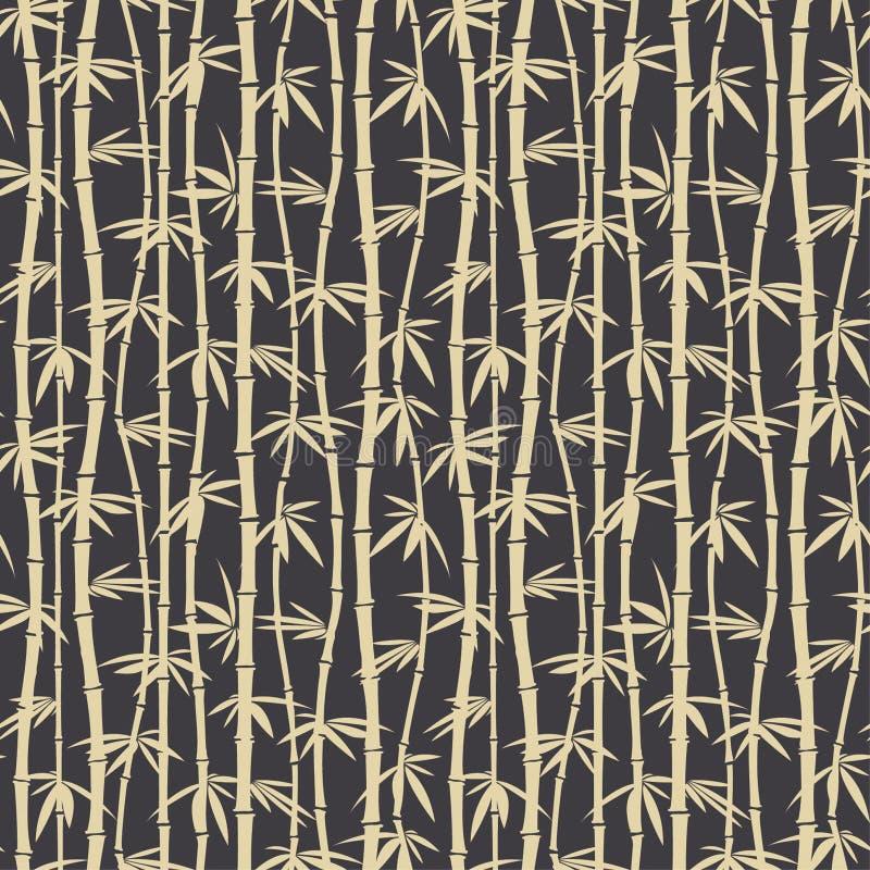 Bamboo pattern vector illustration