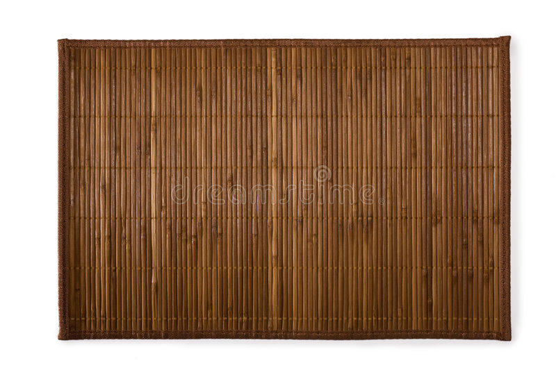 Bamboo place mat for sushi
