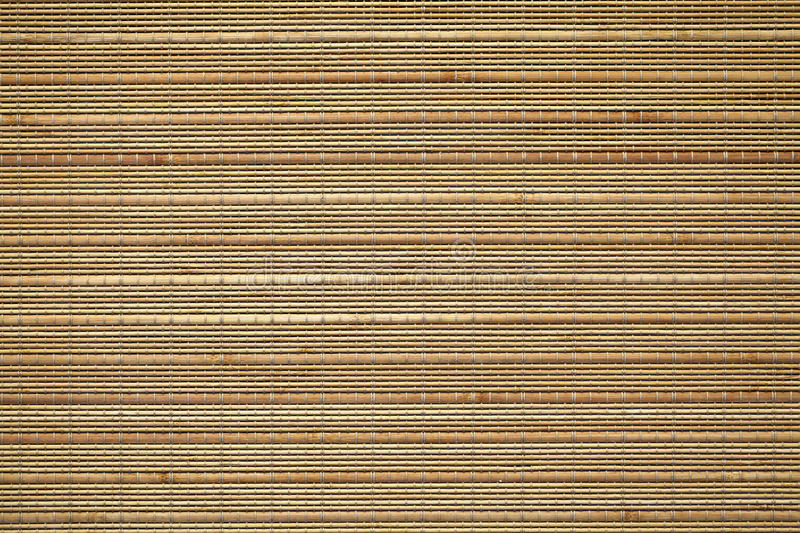 Bamboo placemat texture royalty free stock images