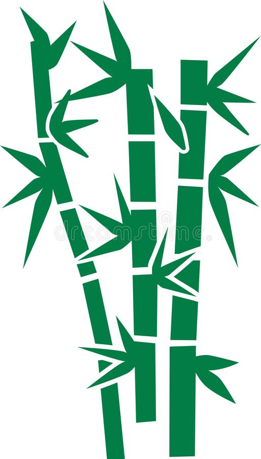 Bamboo plant leaf vector icon vector illustration
