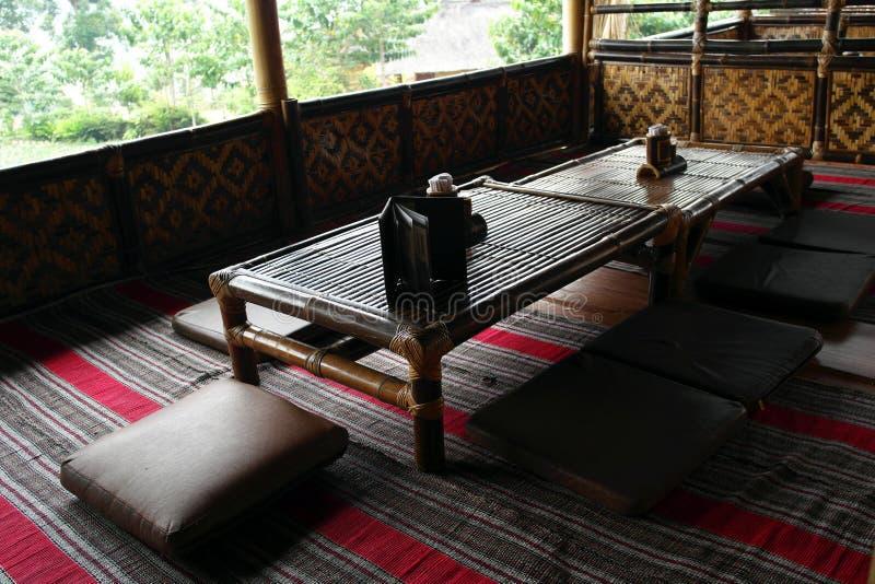 download bamboo restaurant in bandung indonesia stock image image of beautiful lamp 55033127
