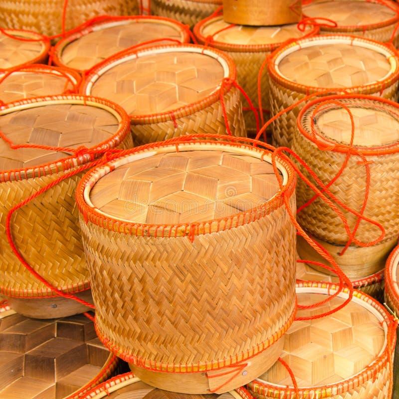 Bamboo& x27 ; riz collant de s photos libres de droits