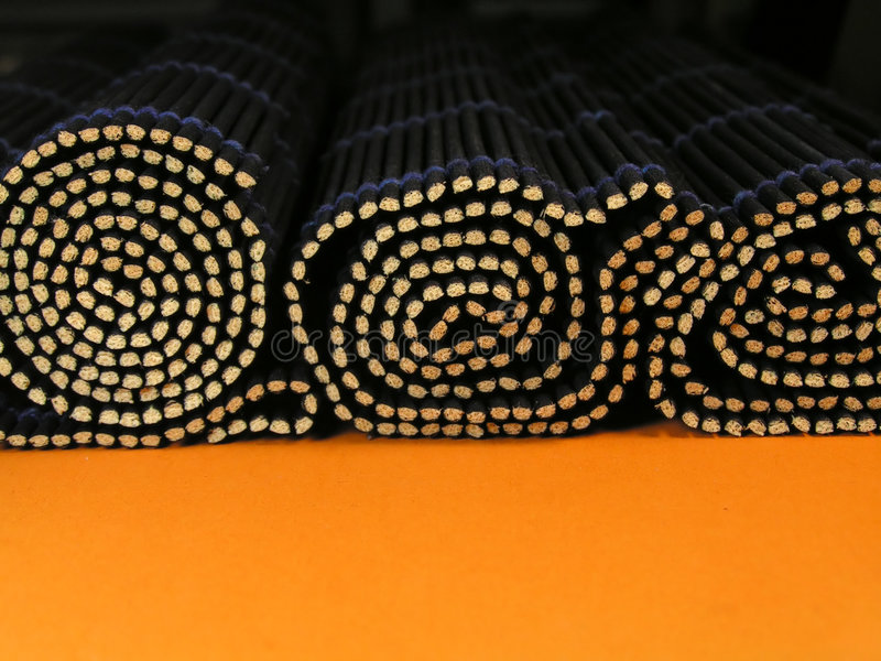 Download Bamboo rolls stock image. Image of rolled, japan, orange - 42355