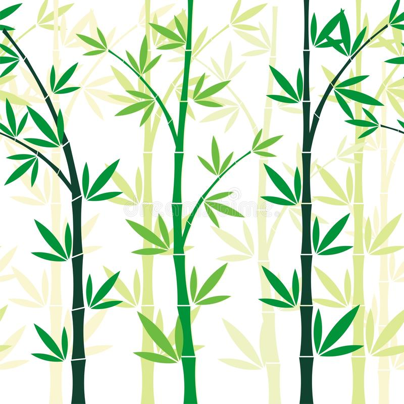 Bamboo Seamless pattern design royalty free stock photo