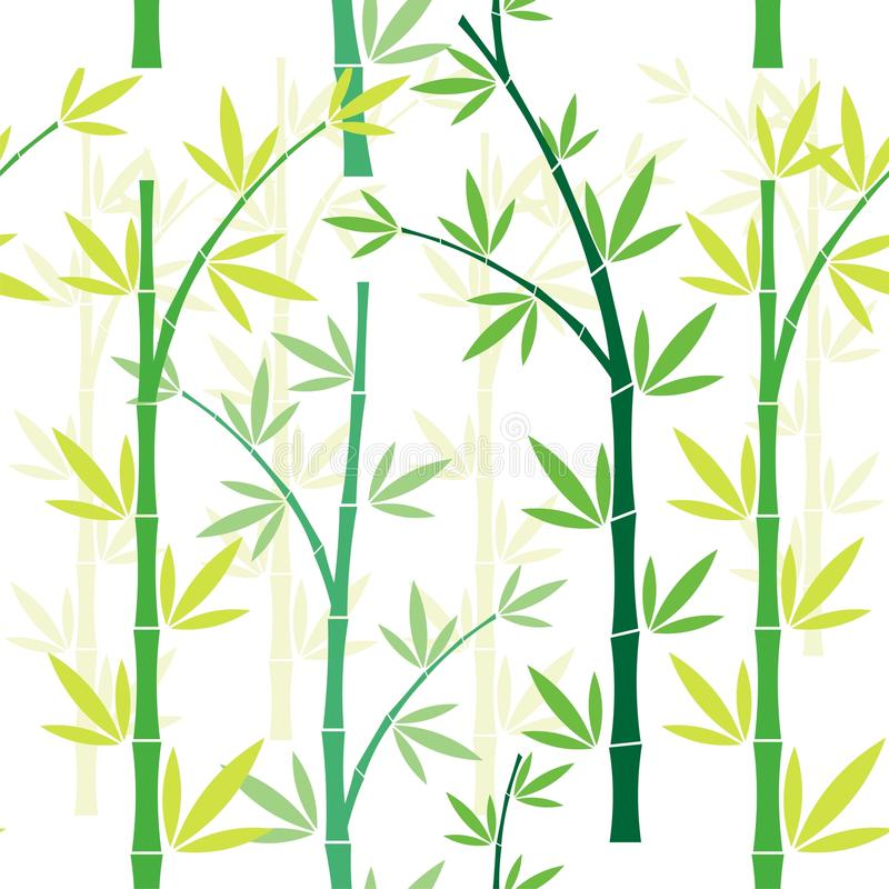 Bamboo Seamless pattern design royalty free stock photography