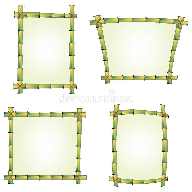 Bamboo Signs Stock Images