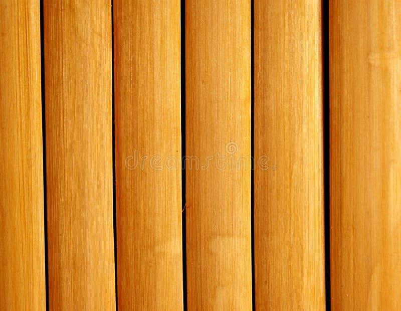 Bamboo Slats Pattern Royalty Free Stock Photos