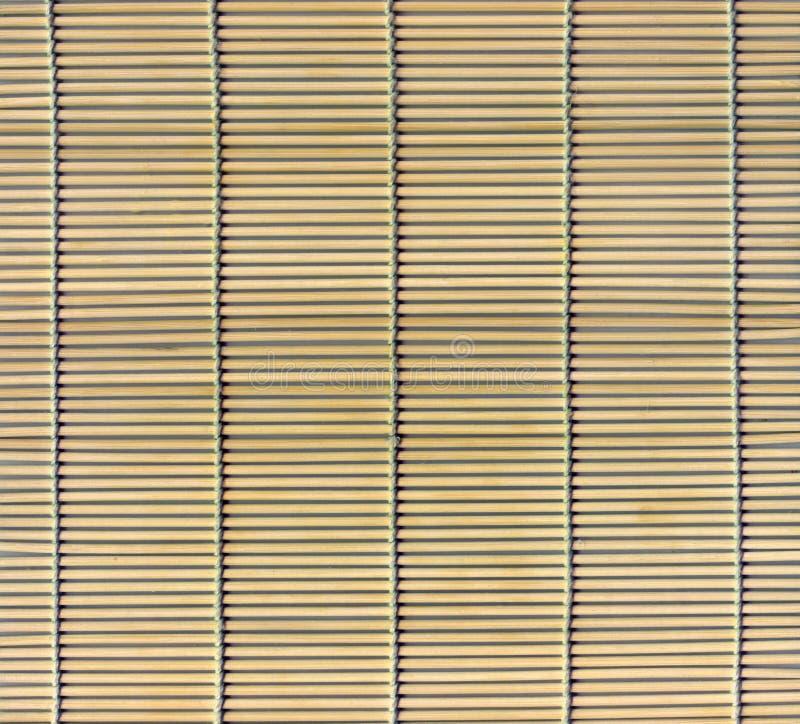 Bamboo stick straw mat royalty free stock photos
