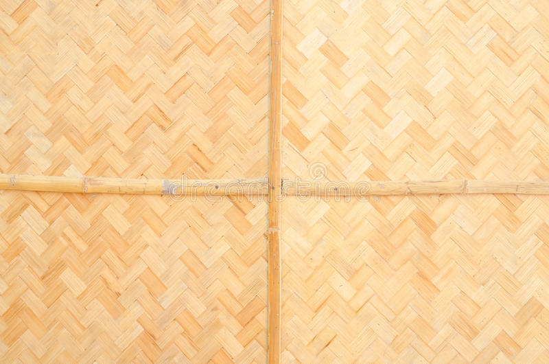 Bamboo texture and background. Bamboo weave texture and background royalty free stock photography