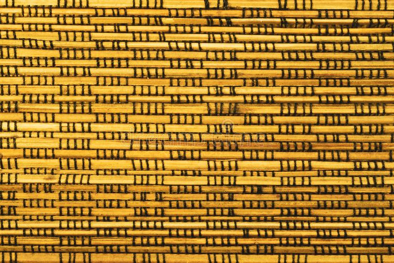 Bamboo texture background. weaving wooden pattern. Texture, wall, natural, backdrop, brown, material, surface, fence, wallpaper, old, striped, panel, home royalty free stock photos