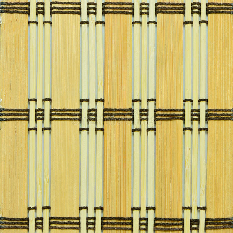 Bamboo texture. Texture of colorful bamboo weave stock photography