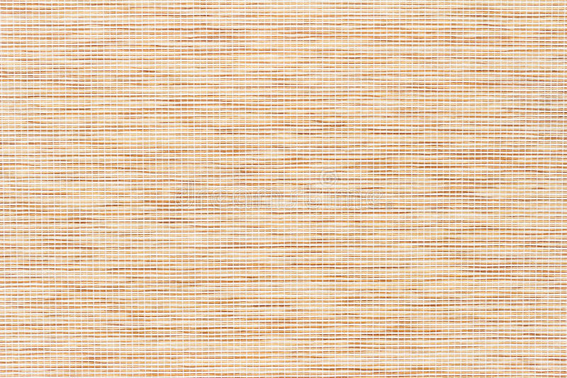Bamboo Texture With Fine Woven Cloth Royalty Free Stock