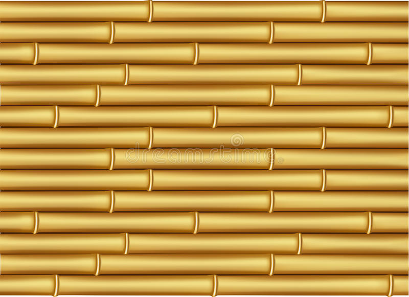 Download Bamboo textured stock vector. Illustration of pipes, natural - 23169234
