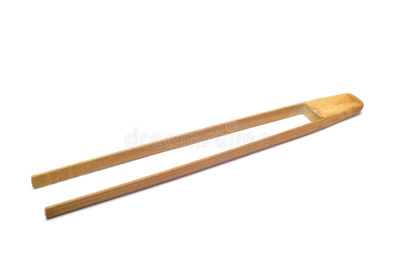 Bamboo tongs royalty free stock images