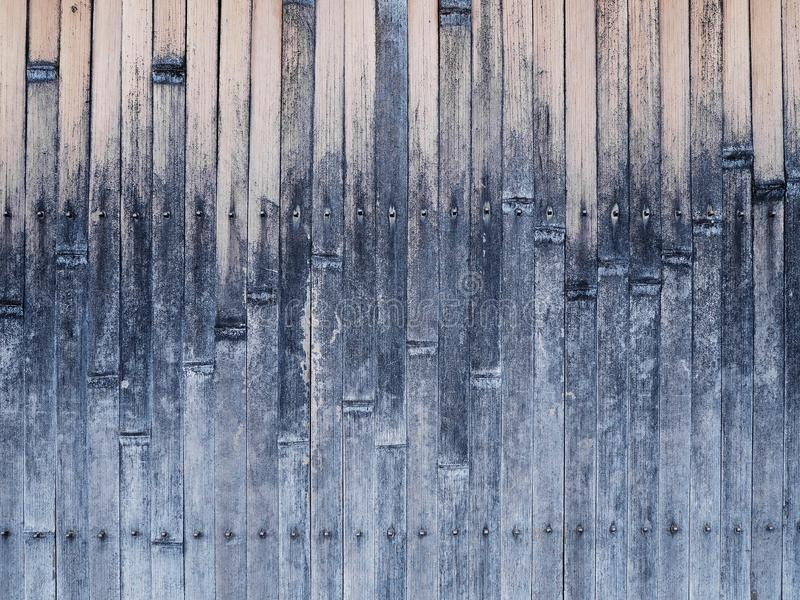 Bamboo wall background Japanese style royalty free stock images
