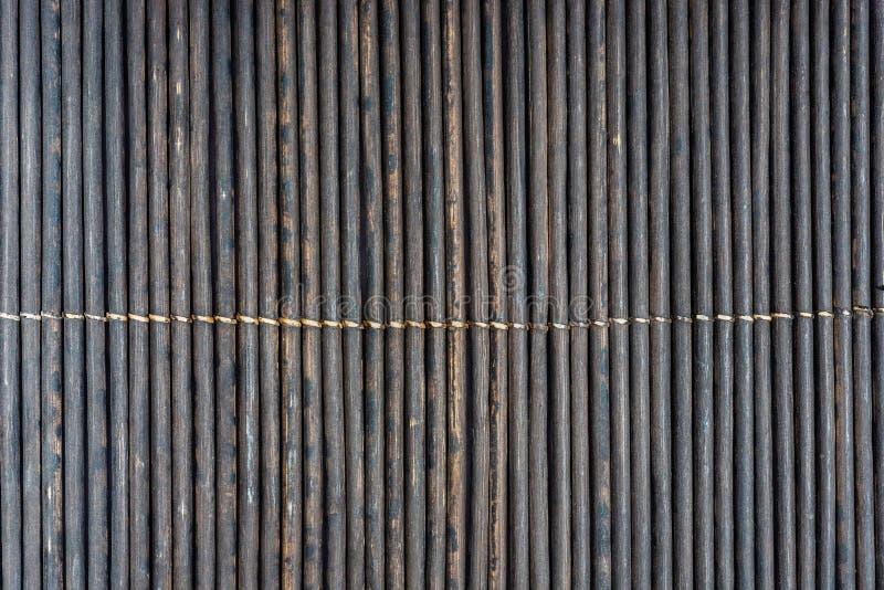 Bamboo wall- pattern wood. Bamboo wall- nature decor. For lovers of natural materials stock photo