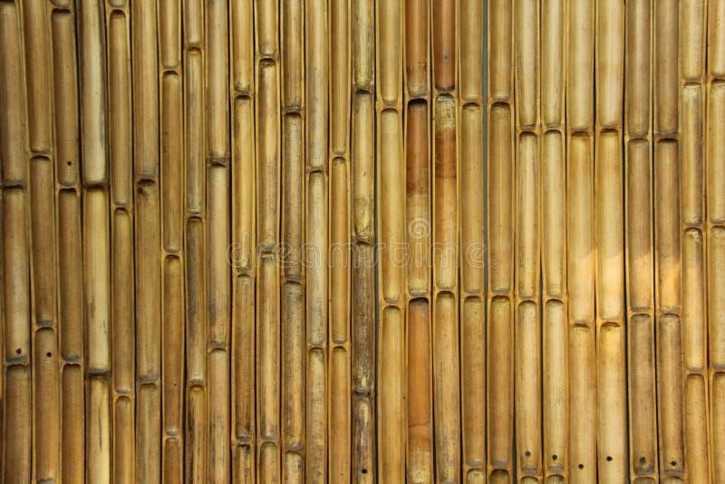 Bamboo wall. stock photo. Image of bamboo, brown, natural - 32433654