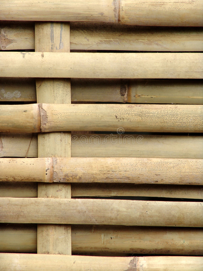 Free Bamboo Woven Into Fence Royalty Free Stock Image - 1227316