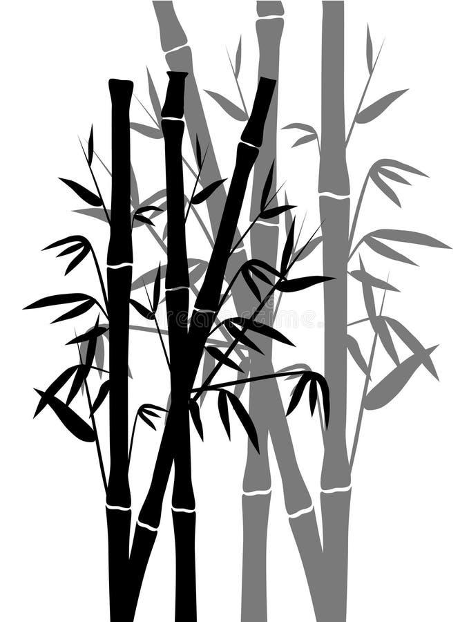 Bambou illustration libre de droits