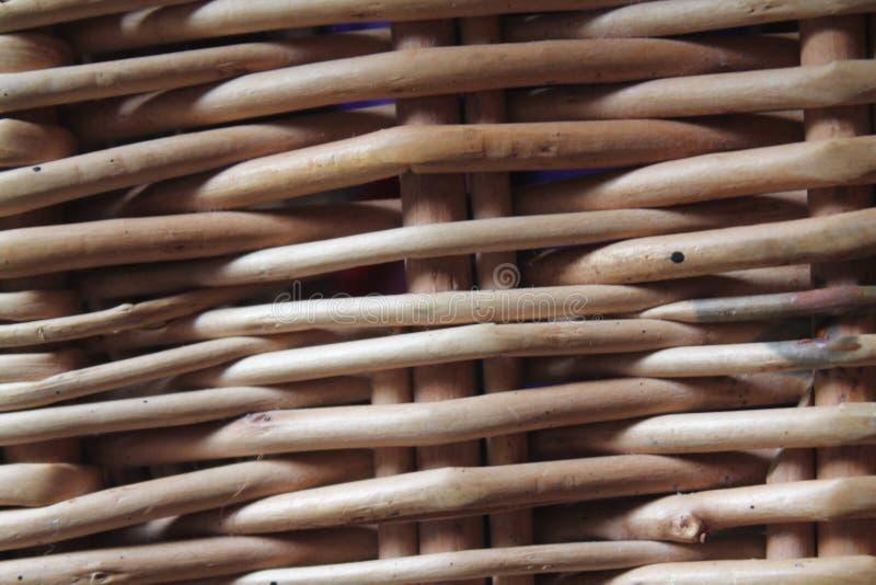 Bambou en osier, barrière de rotin, fond, texture photo libre de droits