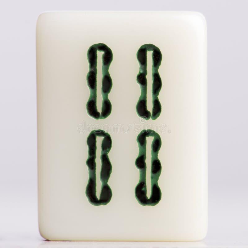 Bambous d'†de Mahjong» image libre de droits