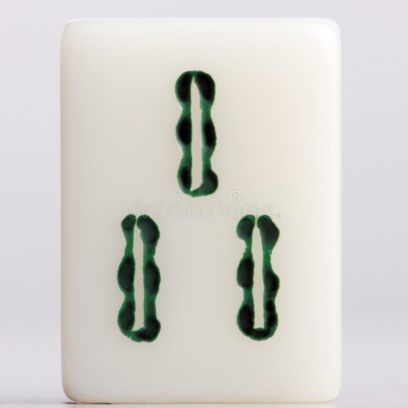 Bambous d'†de Mahjong» photographie stock libre de droits