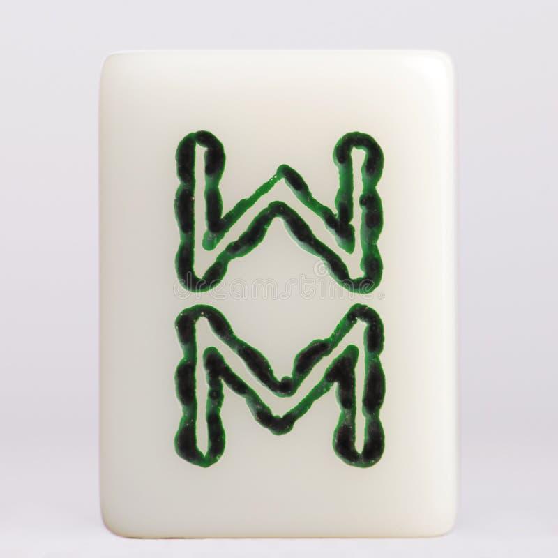 Bambous d'†de Mahjong» photo libre de droits