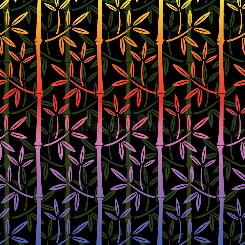 bambu vektor illustrationer