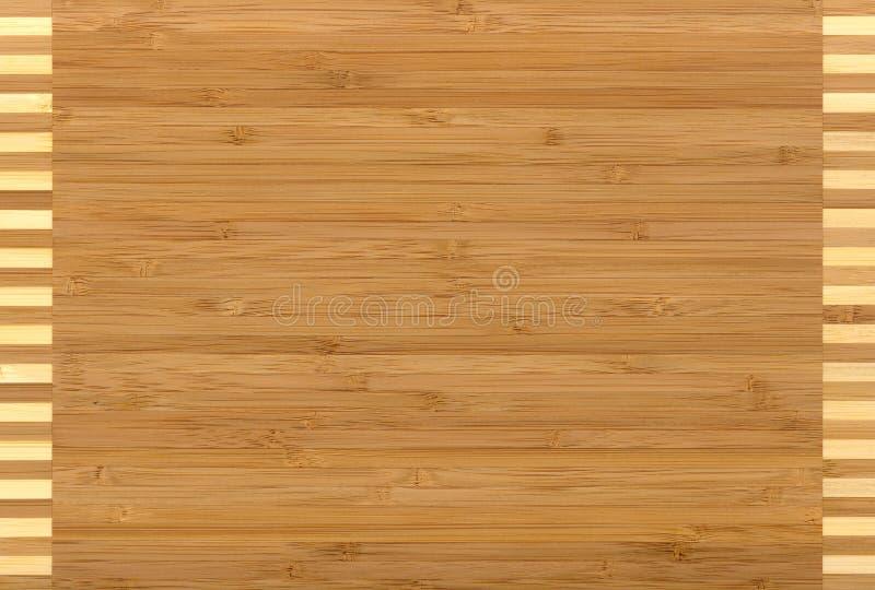 Bambu de madeira da textura imagem de stock