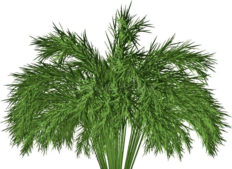 Bambu de madeira gigante: ilustração stock