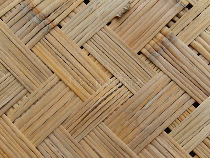 Bambu, juncos, textura de madeira do weave fotos de stock royalty free
