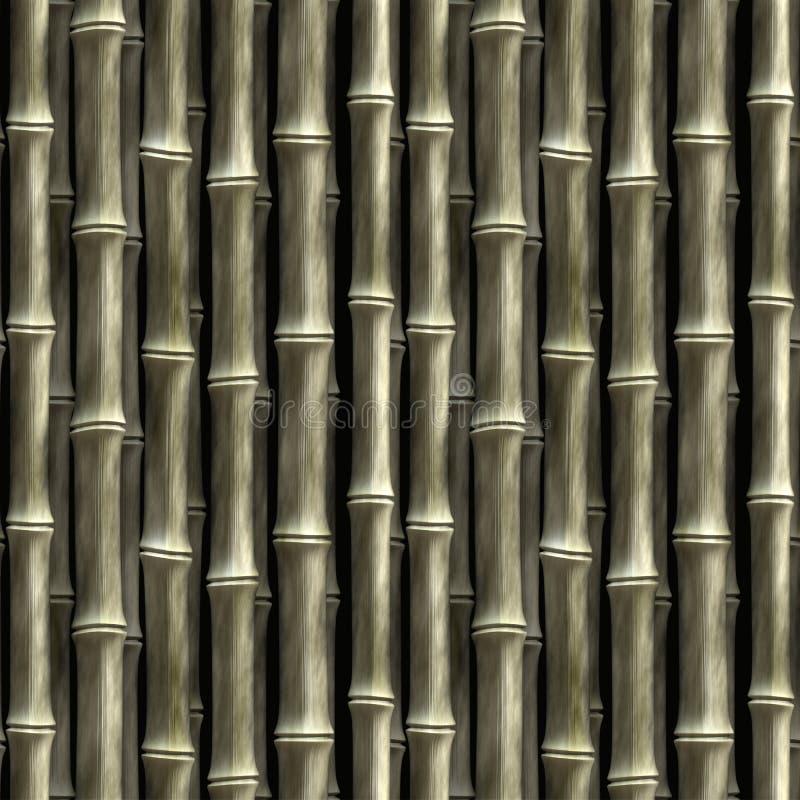 Bambu sem emenda ilustração do vetor