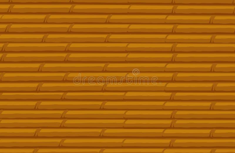 Bambubuntbakgrund royaltyfri illustrationer
