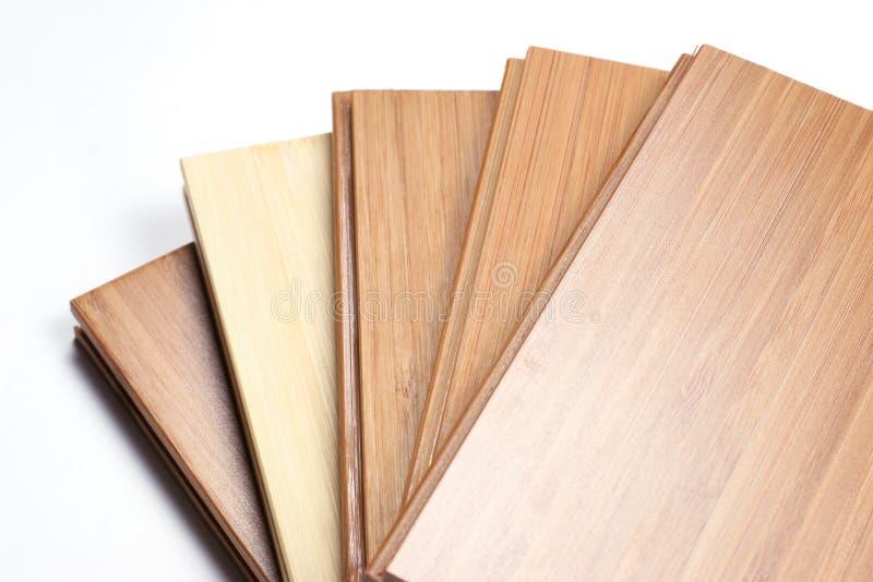 bambuparkett arkivfoto