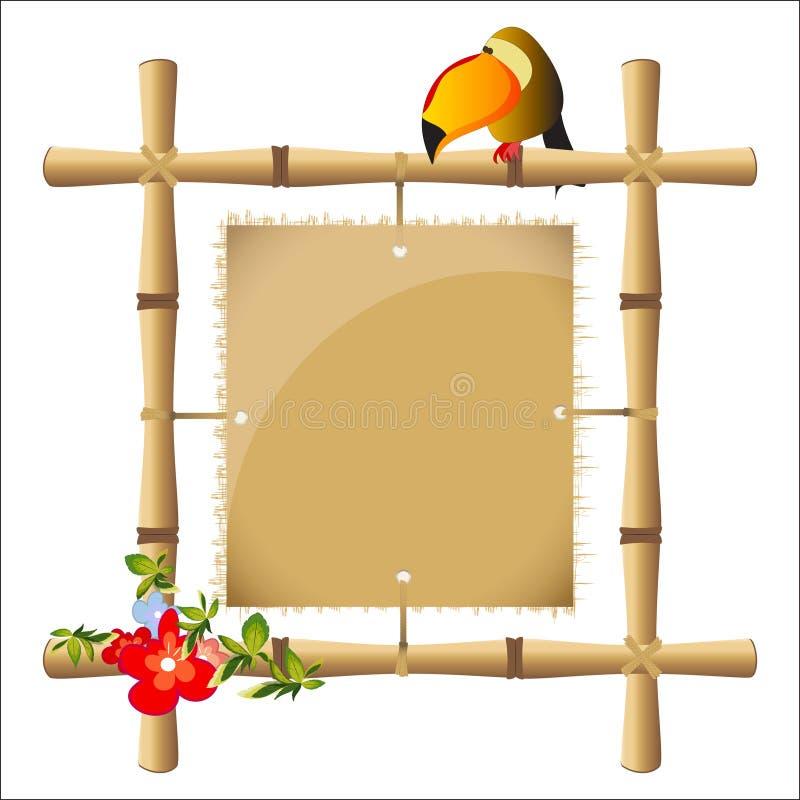 bamburam vektor illustrationer