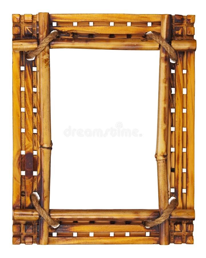 Bamburam som isoleras på vit bakgrund. arkivbilder