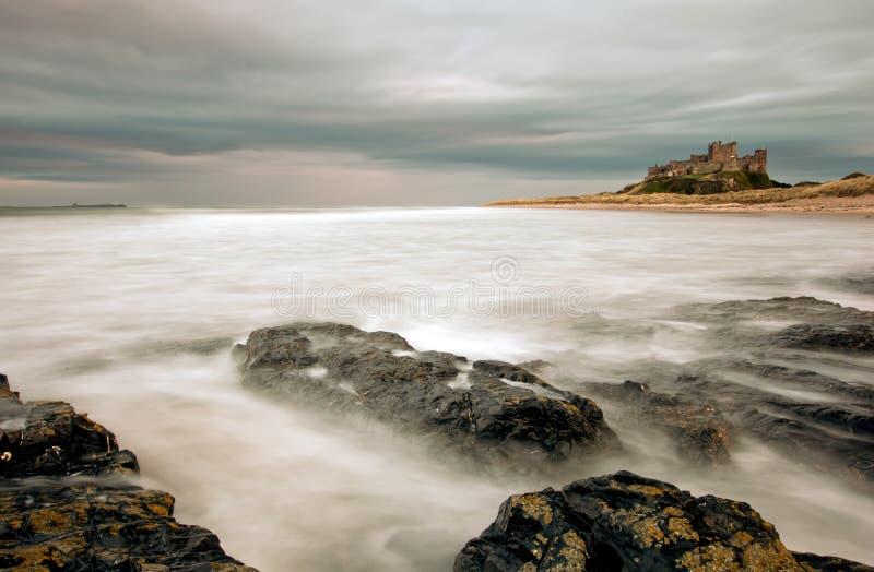 Bamburgh城堡 免版税图库摄影