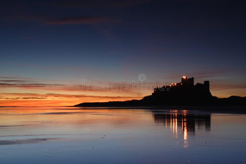 Download Bamburgh Castle stock image. Image of dunes, england, darling - 1864465