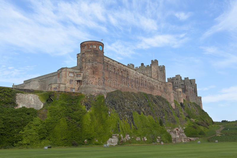 Bamburgh Castle. Bamburgh Castle in Northumberland, England royalty free stock images